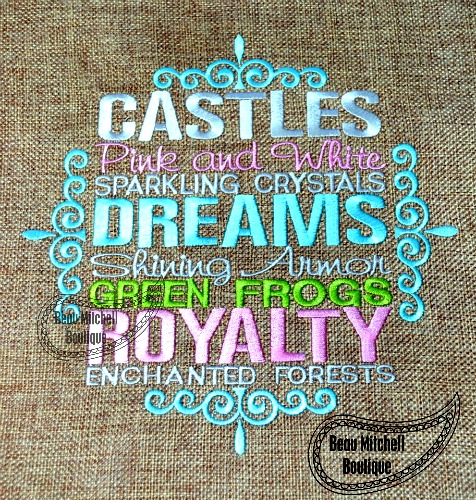 Princess saying