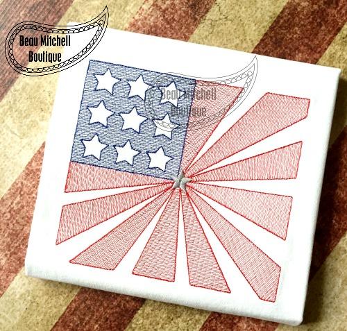 Starburst Flag