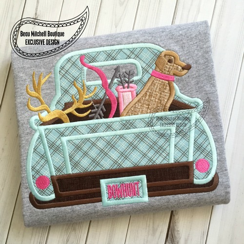 Bow Hunting Truck applique