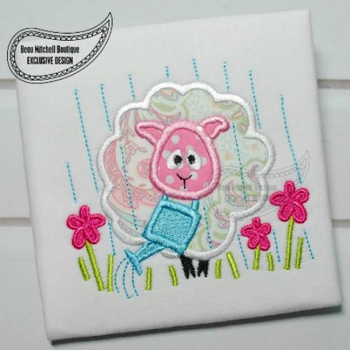 Spring Sheep applique