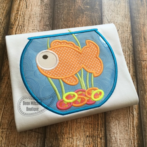 Fish tank applique