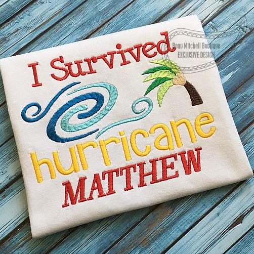 I Survived Hurricane Matthew