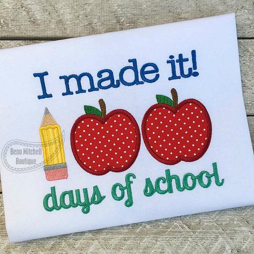 100 days of school I made it