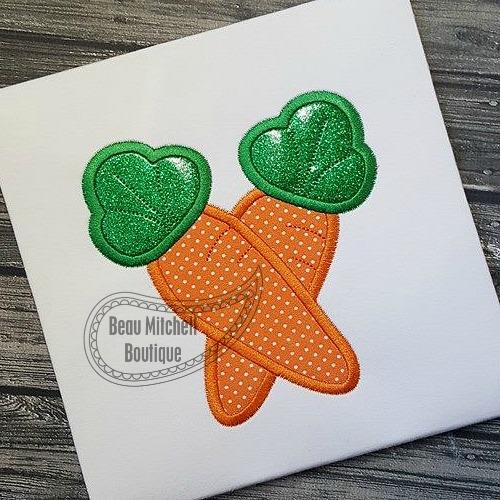 Crossed carrots