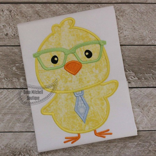 Easter chick tie