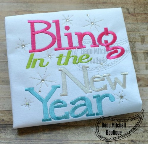 Bling in the new year!