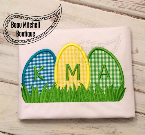 Easter Grass applique