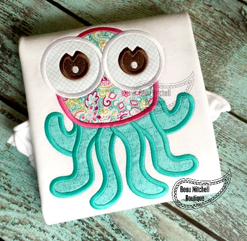Octopus applique