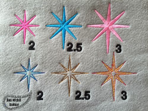 Design Extras All Fill Stitch Embroidery Designs Beau Mitchell