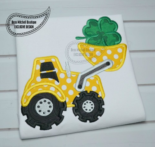 Shamrock loader applique