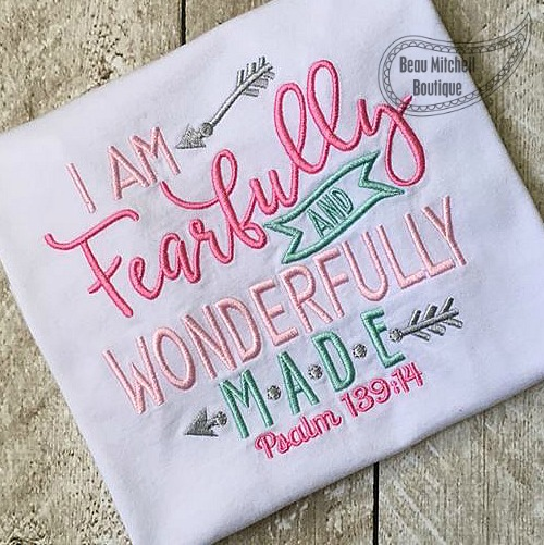 Fearfully And Wonderfully Made Beau Mitchell Boutique