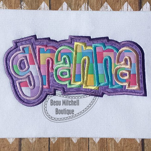 Granna double applique