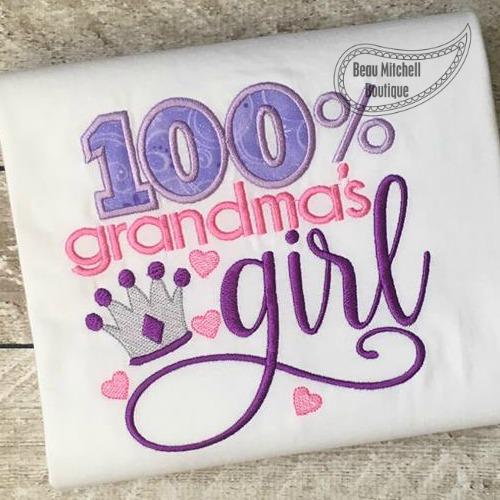 100% Grandma's girl
