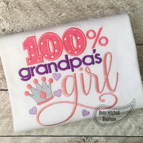 100% Grandmpa's girl