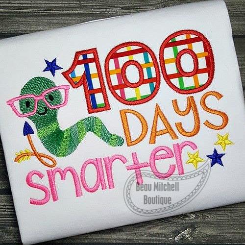 100 days smarter bookworm