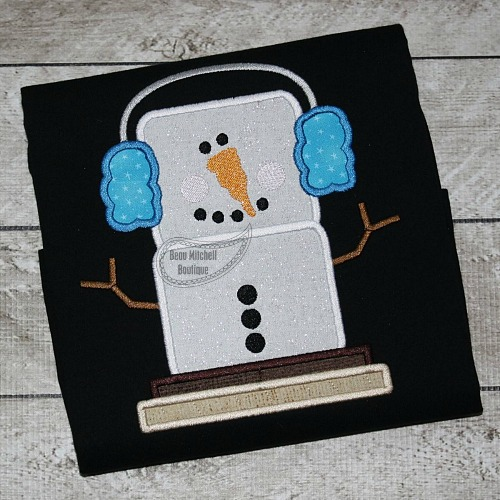 Smore snowman