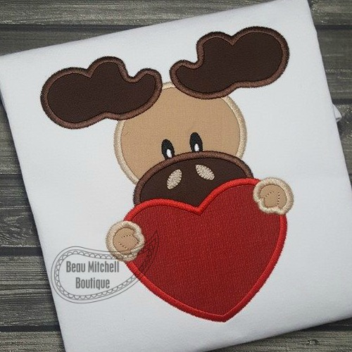 Valentine Moose -No bow