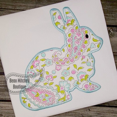Simple Bunny applique