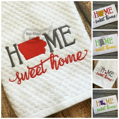 Home Sweet Home 50 State Set