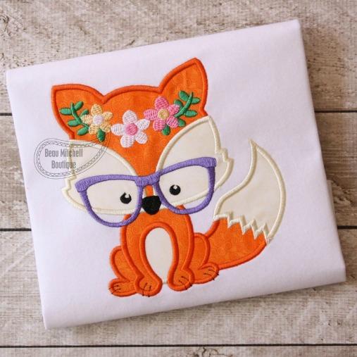 Foxy Flower Glasses