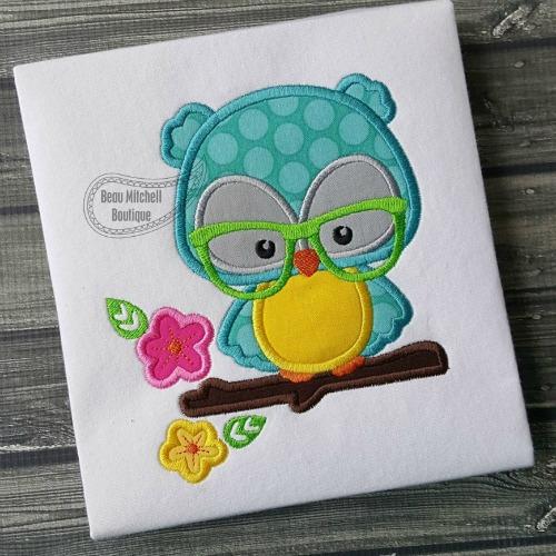 Owl Branch glasses
