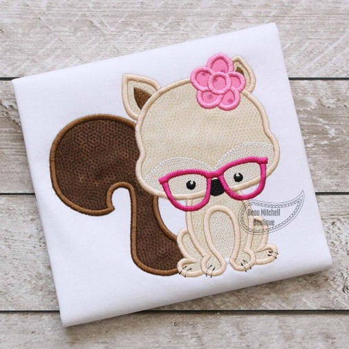 Squirrel Flower Glasses