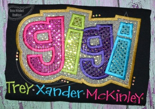 GiGi double applique