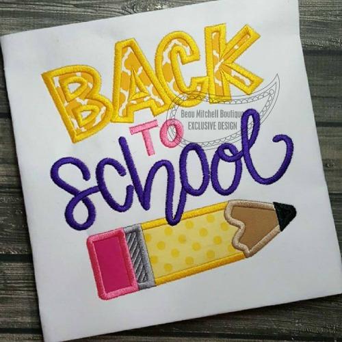 Back to school Pencil