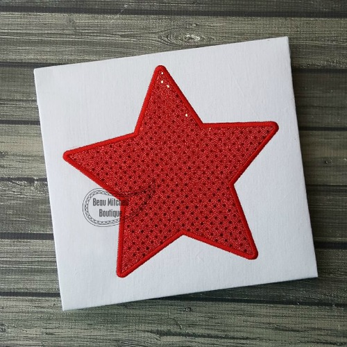 Star Applique