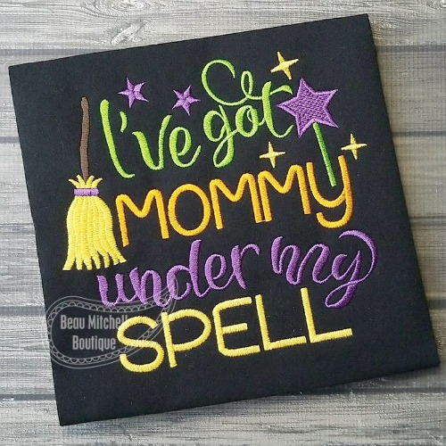 I've got Mommy under my Spell