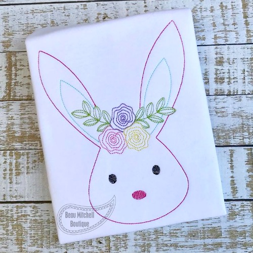 Bunny Flower headband
