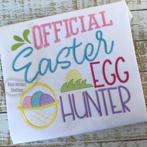 Official Easter egg hunter