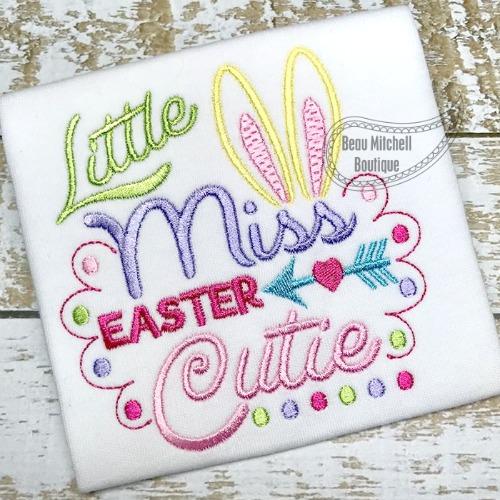 Little Miss Easter Cutie