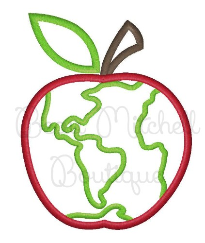 Earth Day Apple