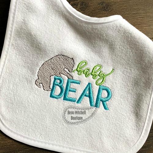 Baby bear design
